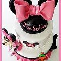Tort z Myszką Minnie #MinnieMouse #MyszkaMinnie #tort #TortyKraków #TortyWalentynki