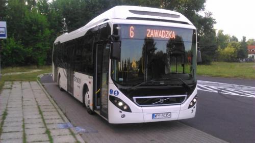 Volvo 7900 autobus hybrydowy ,na testach w MZK wTomaszowie Mazowieckim, który miałem okazje prowadzić #VolvoM9700 #TomaszówMazowiecki #hybryda #autobus #mzk