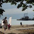 """Przedstawiam """"Pirata"""" zacumowanego przy sopockim molu, gdzie przebywa gościnnie przez całe lato #żaglowiec #statek #atrakcja #wycieczkowiec"""