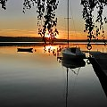 na jeziorze ...Wdzydze na Kaszubach (przystań w Wdzydzach Tucholskich) #jezioro #woda #Kaszuby #Wdzydze