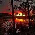 to nic, że zachodzi... jutro też będzie dzień #zachód #jezioro #Kaszyby