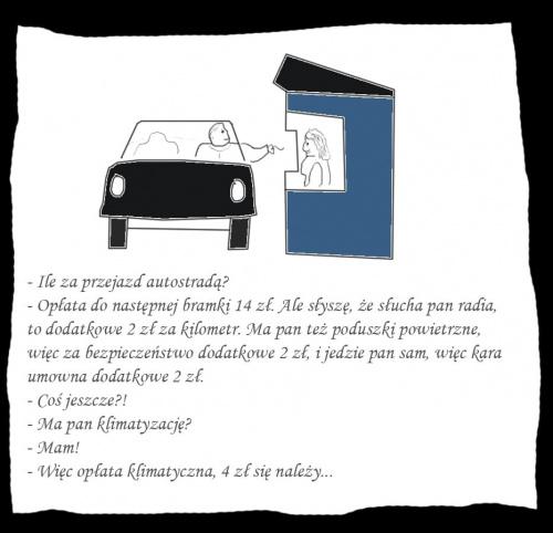 Opłata za autosradę