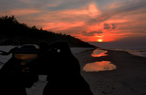 2/3 #zachód #sunset #fotografować #photographing