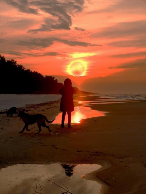 1/3 #zachód #sunset #fotografować #photographing