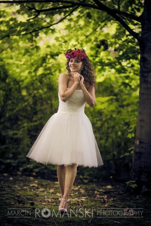 Jak dobrać suknię ślubną, krótka suknia ślubna