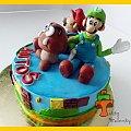 Tort Super Mario Bros #gumba #luigi #mario #SuperMarioBros #tort #TortyArtystyczne #TortyKraków #TortyWalentynki