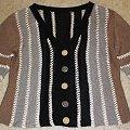 sweterek #AlizeLino #druty #len #sweterek #top #wiskoza
